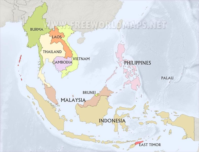 SouthEast Asia Maps SouthEast Asia countries