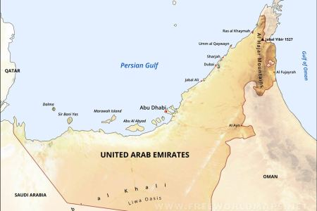 gulf of oman physical map » Full HD Pictures [4K Ultra] | Full ...