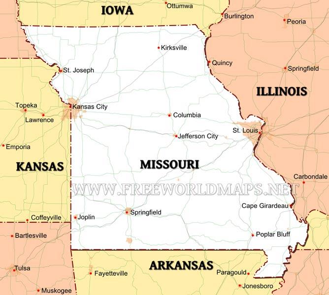 Missouri Maps
