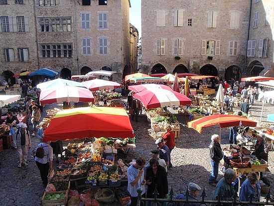 Fresh Food Market Paris