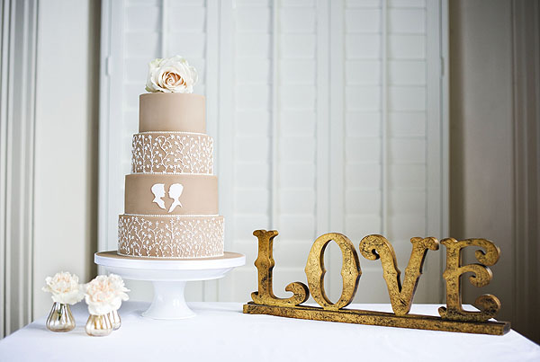 French Shabby Chic Cakes