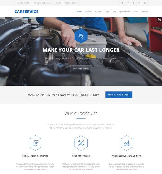70 Best Car Automotive Wordpress Themes Free Amp Premium