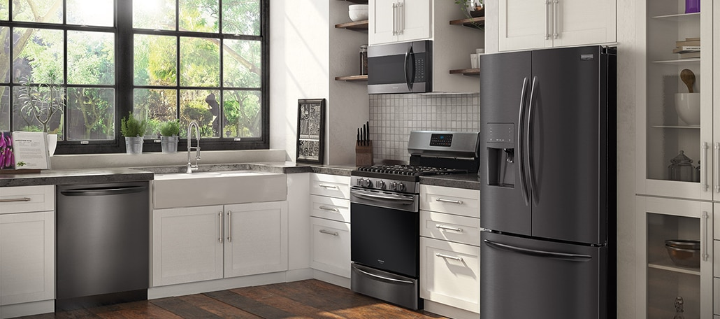 Press Awards Black Stainless Frigidaire