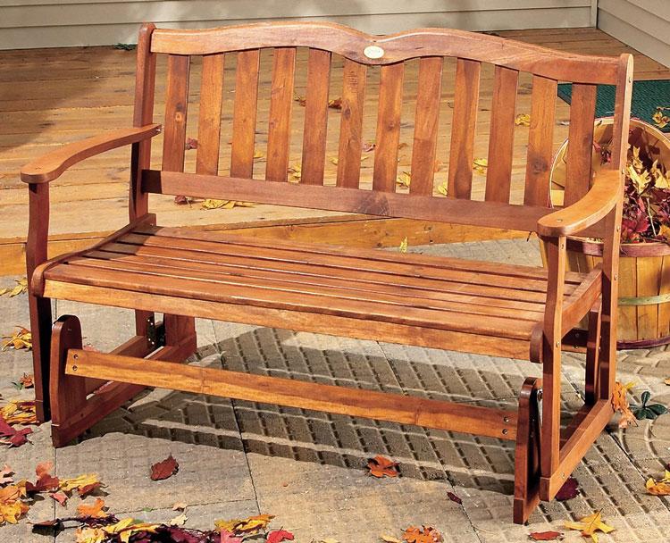 Bench Plans Glider