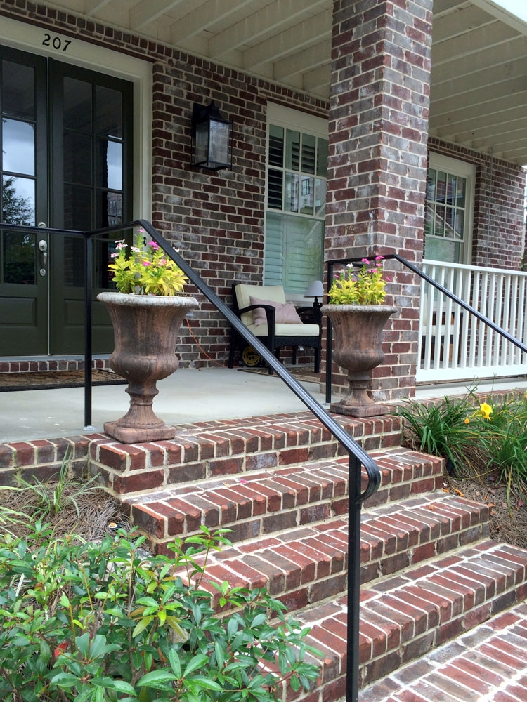 Porch Hand Rails Designs Kits And More | Outdoor Handrails Near Me | Handrail Ideas | Metal | Wrought Iron Railings | Stair Railings | Steel Handrail