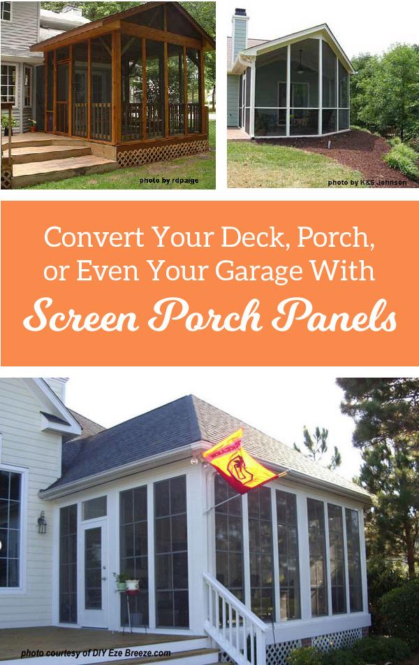 Screen Panels For Porches Versatile For Porches Decks
