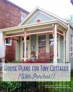 Small Cottage House Plans with Amazing Porches Victorian Style cottage in Madison Indiana