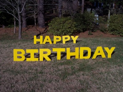 Va Lawn Greetings Va Yard Cards Virginia Birthday Signs