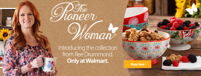 Pioneer Woman Walmart Table