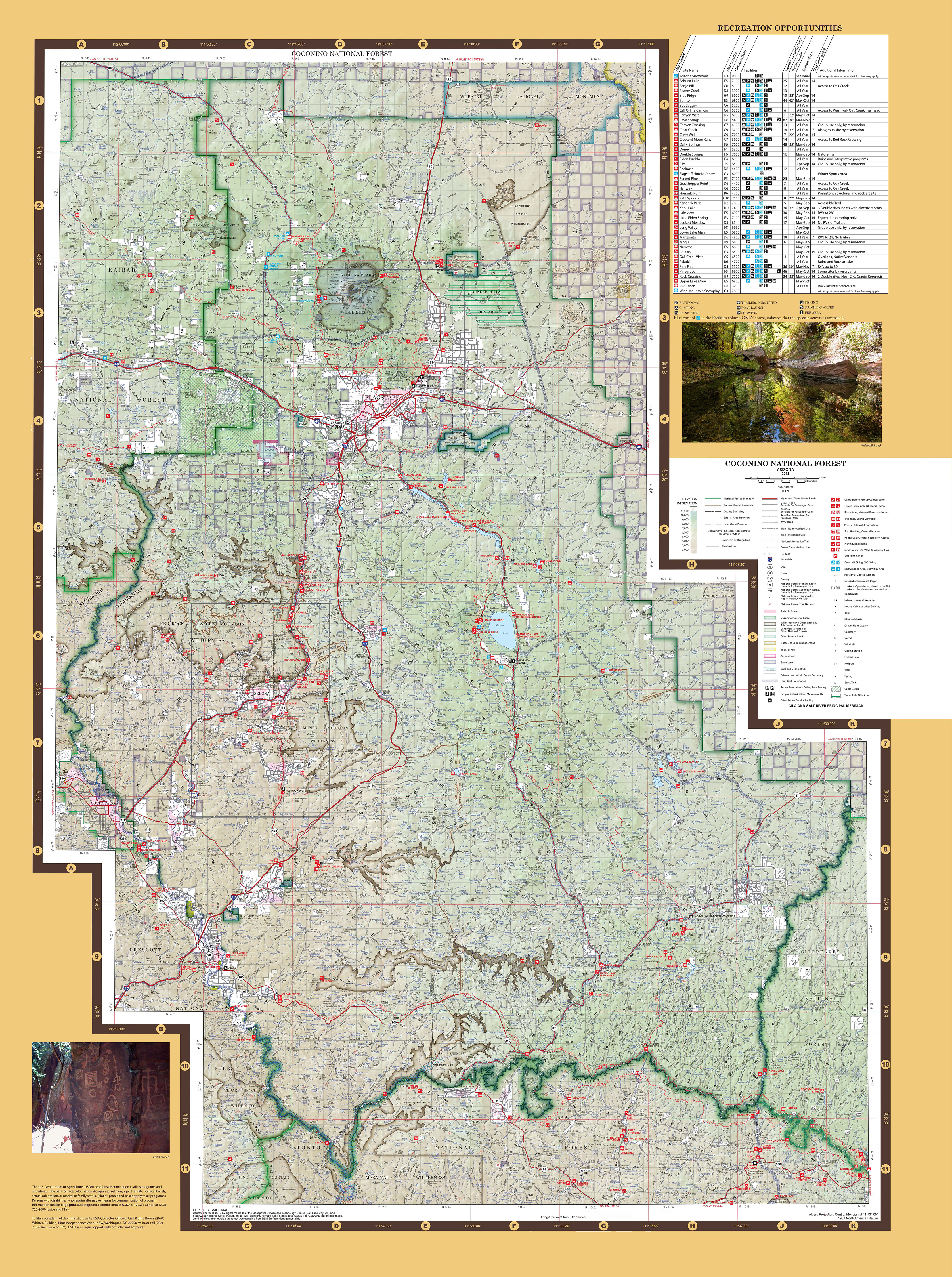 Coconino National Forest   Maps   Publications     13 MB