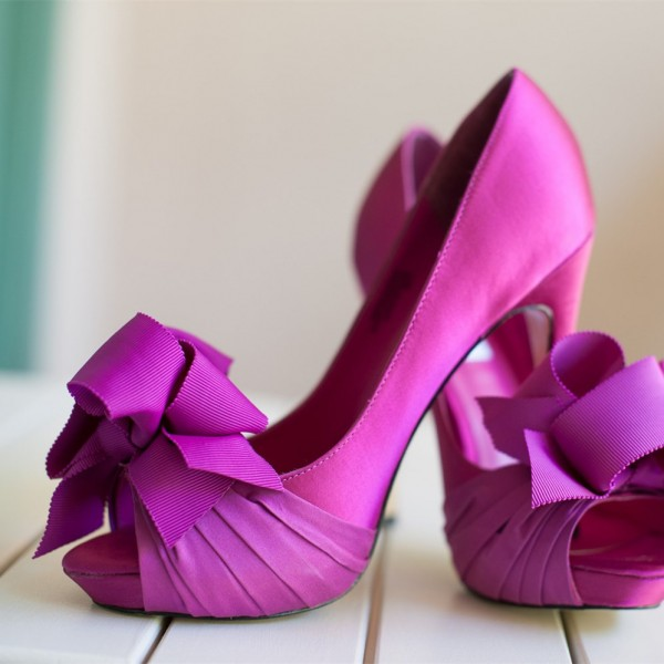Satin Pumps Wedding