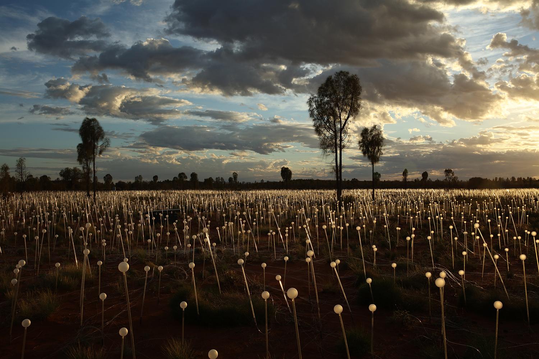 Uluru Light Art