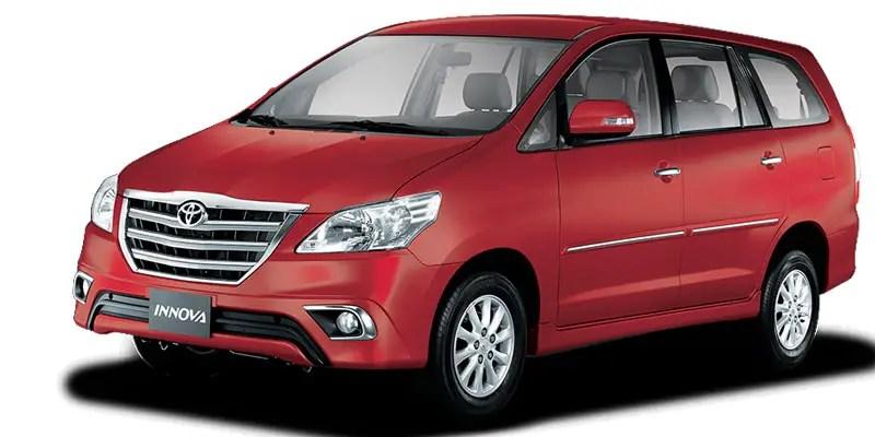 Toyota Innova 2 5 Le 8 Seater Bsiii 2014 Available Colors