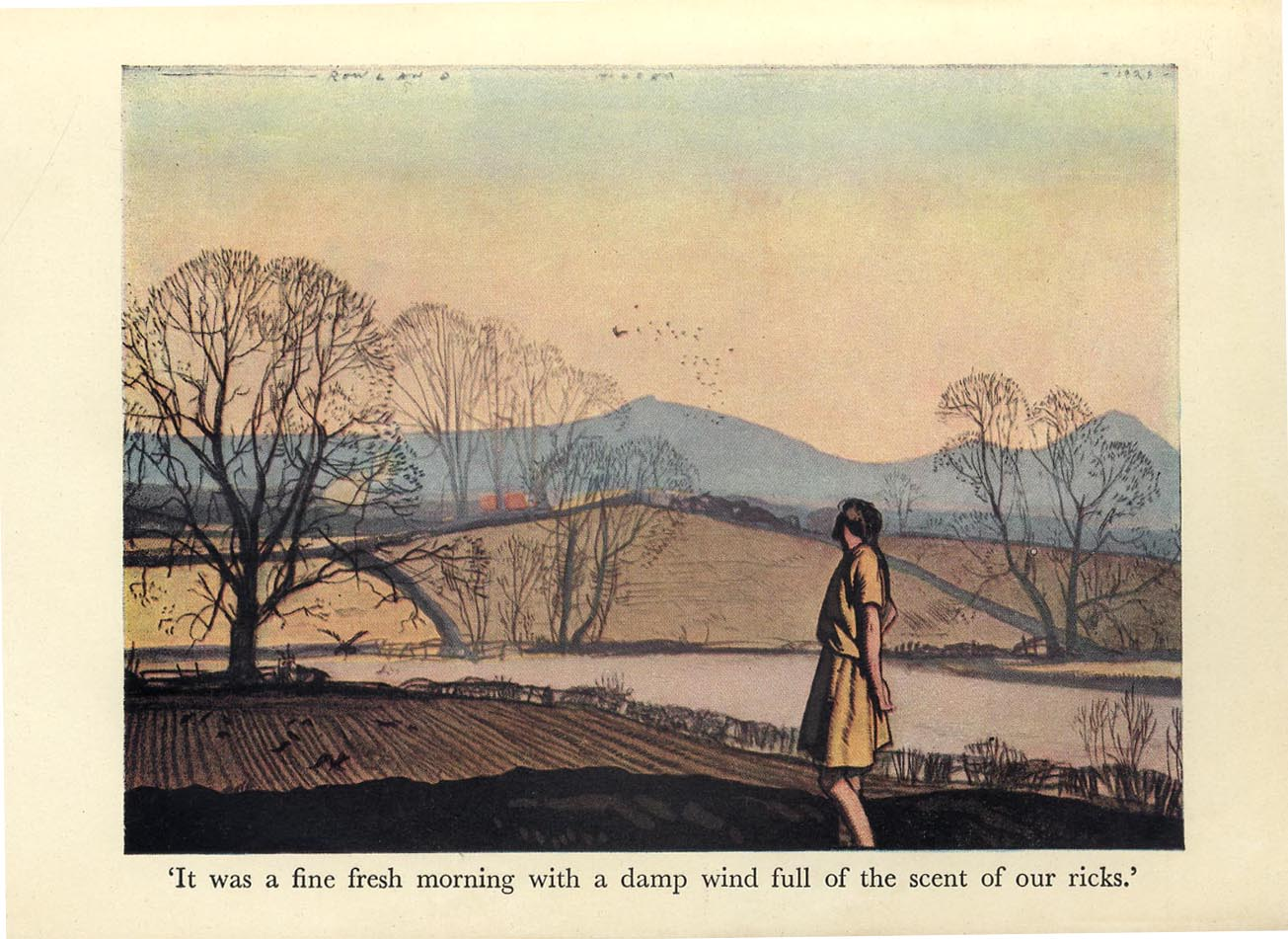 Norman Hepple Rowland Hilder Illustrations To Mary Webb