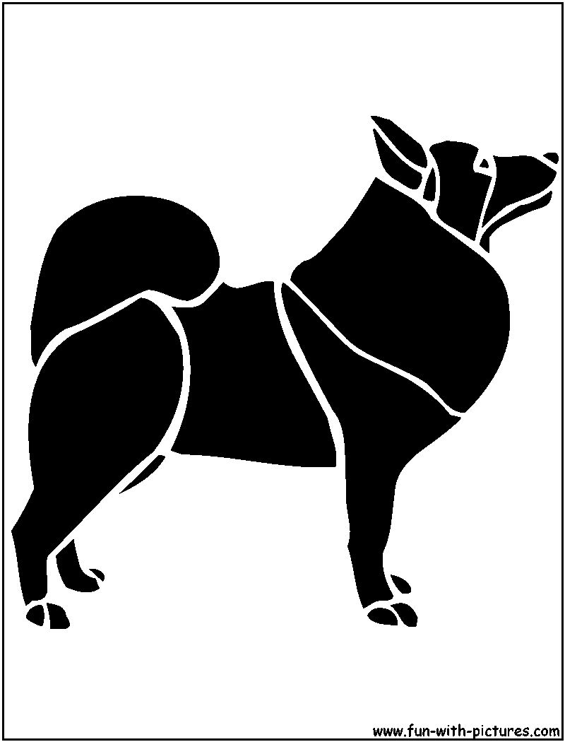 Dog stencils free printables and activities kids, dog coloring pages