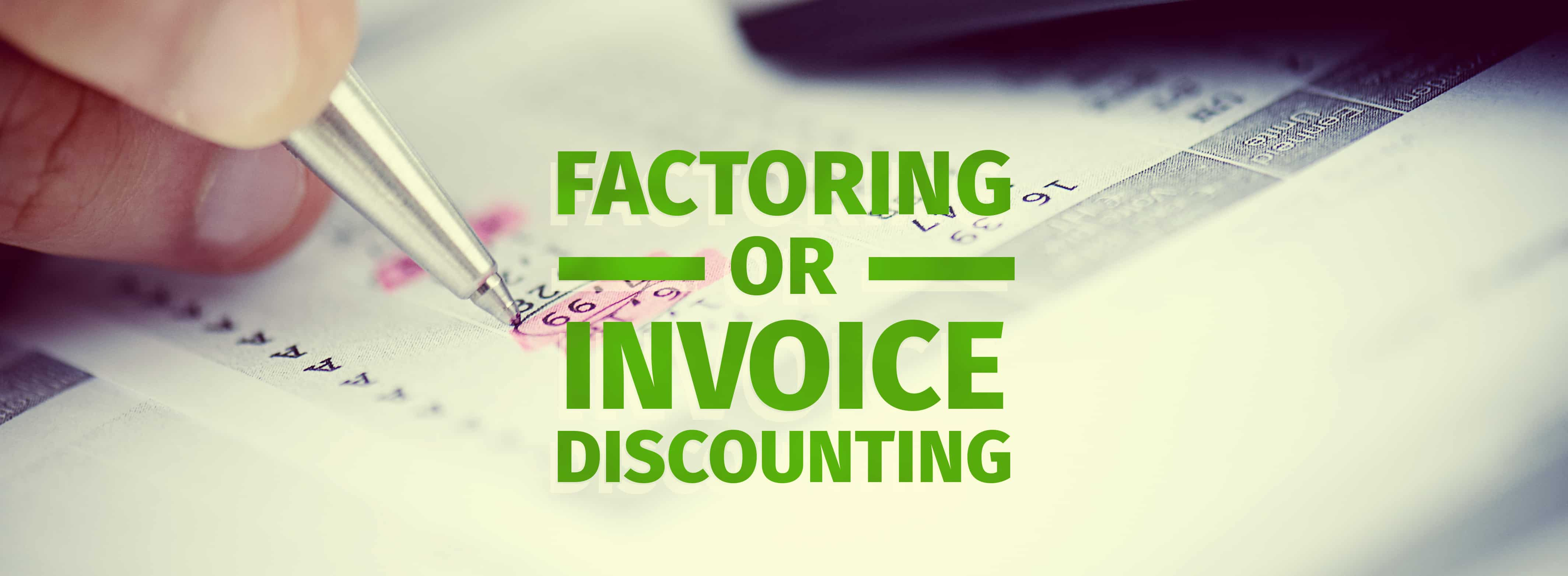 Invoice Discounting vs  Factoring Invoice Discounting  What s the Difference