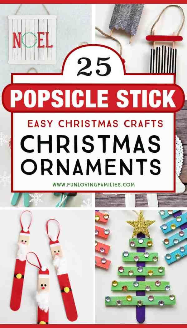 christmas ornaments popsicle sticks # 24