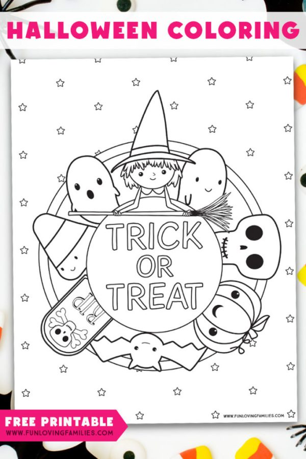 halloween coloring pages free printable # 69