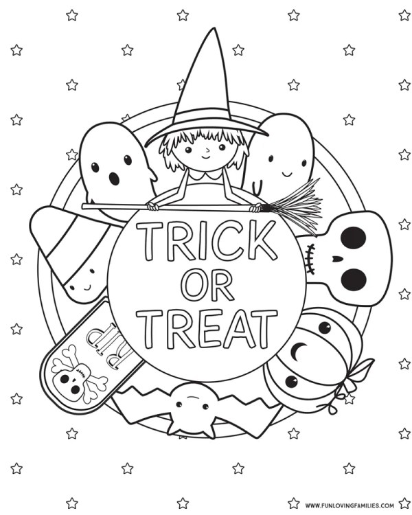 free coloring pages halloween # 43