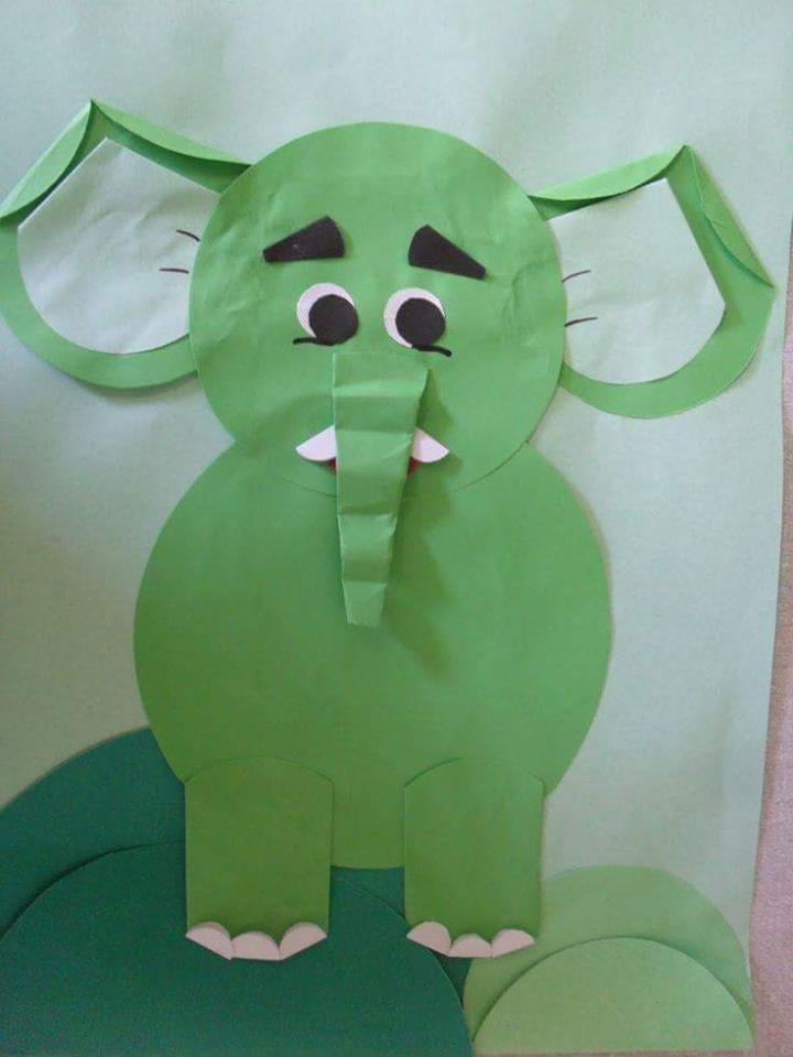 Elephant Craft Idea For Preschoolers Funny Crafts
