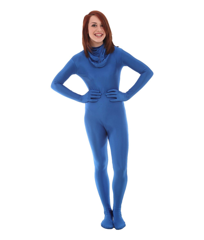 Full Body Except Face Spandex Suit Women