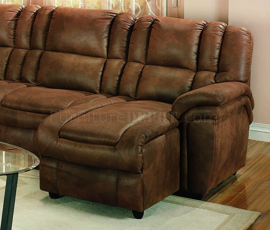 Sectional Sofa Chaise Lounge Microfiber
