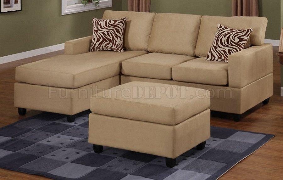 Small Microfiber Sectional Sofa