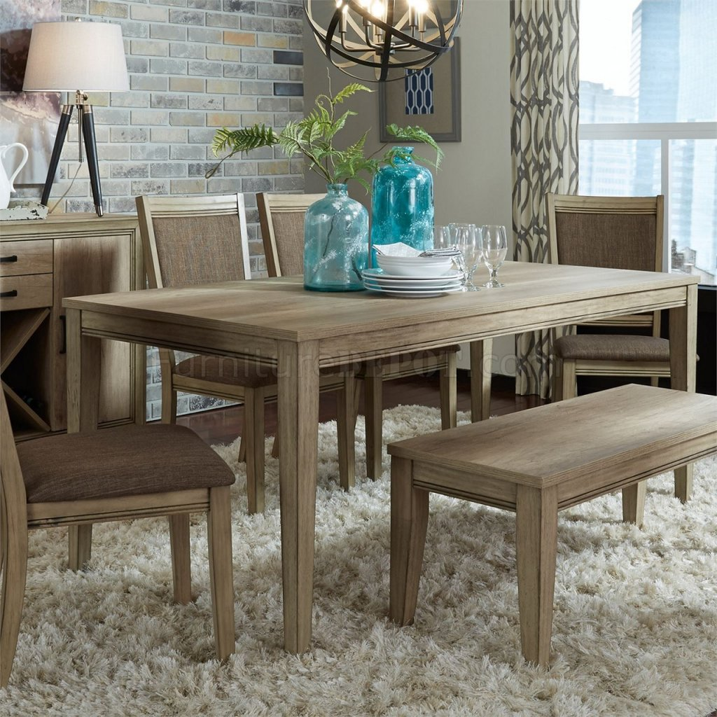Sun Valley 6pc Dining Set 439 Dr Sandstone Liberty W