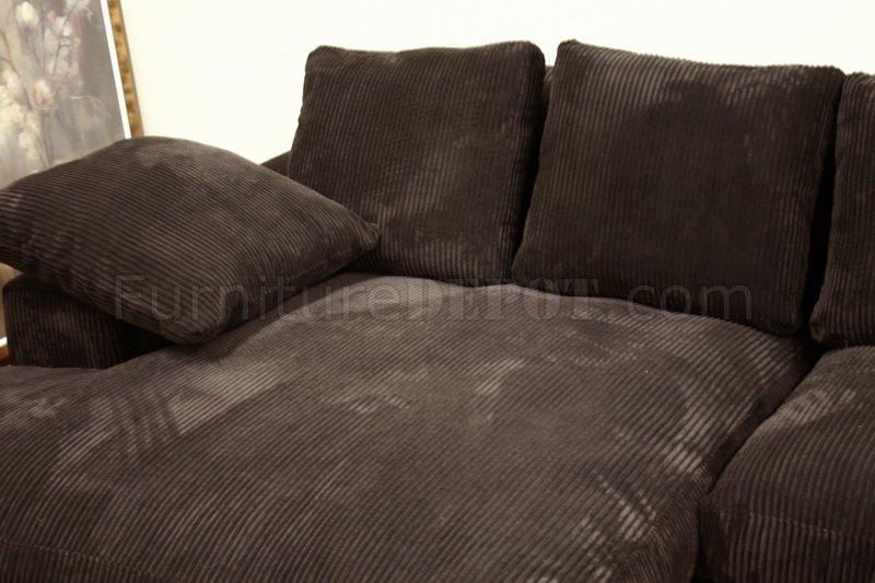 Microfiber Sectional Sofa Chaise