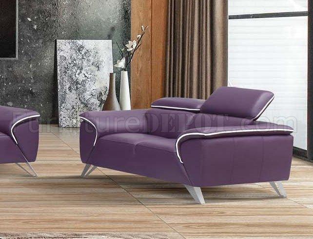 Purple And Chair Half