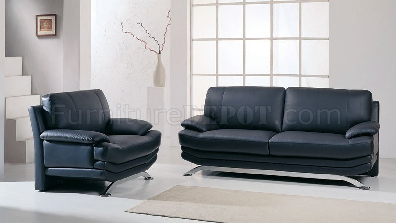 Three Piece Leather Living Room Set