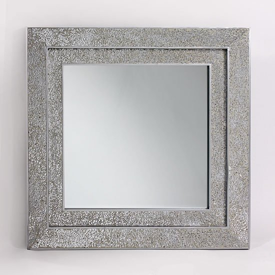 Silver Mosaic Bathroom Accessories