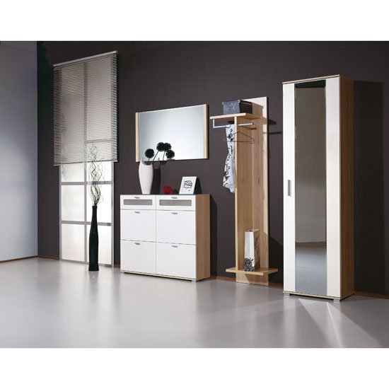 Montana Walnut Hallway Furniture Setting 12841 Furniture In