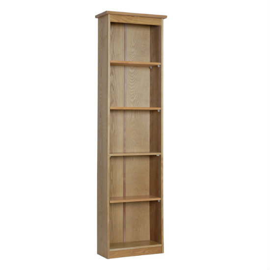 Tall Thin Wooden Bookcase