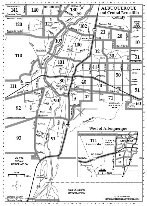 Albuquerque Gang Information