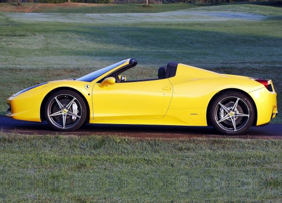 Ferrari 458 Spider Side View - Car Pictures, Images ...