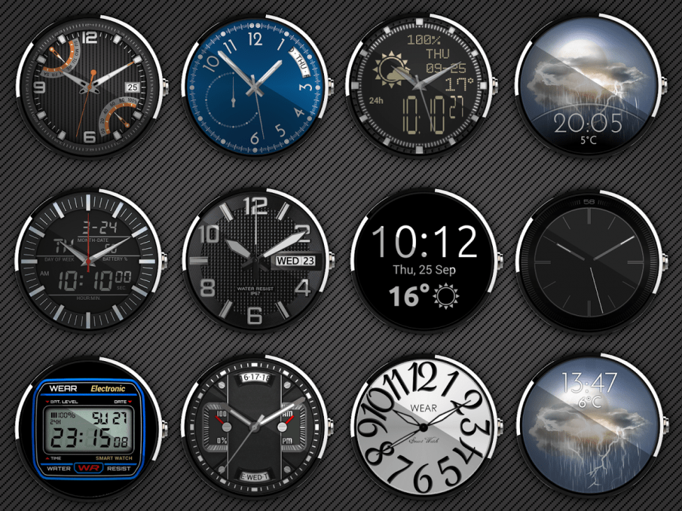 Design and Create Custom Watch Faces for Android Wear ...