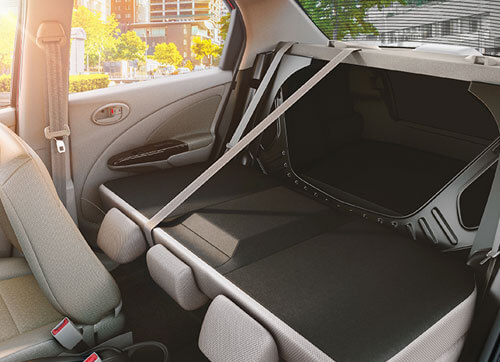 New Foldable Rear Seat