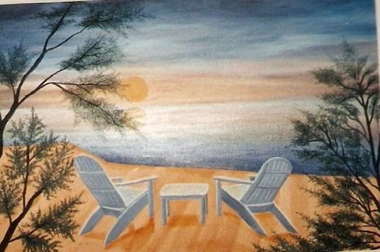 Peinture Vacances D 233 T 233