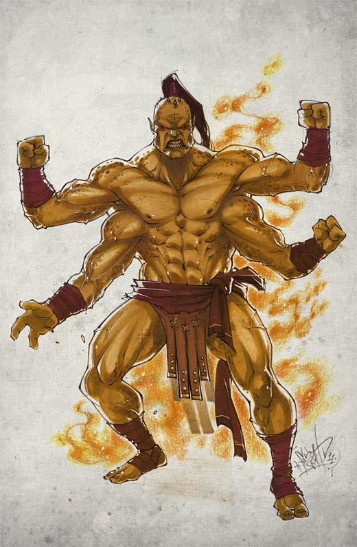 Mortal Vs Scorpion 9 Zero Sub Kombat