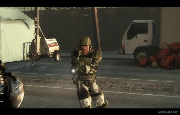 Halo 3 Marine Ellis Left 4 Dead 2 Gamemaps