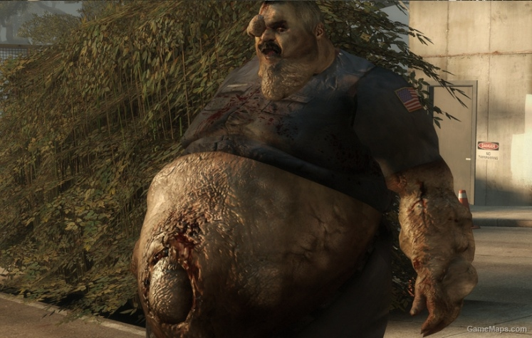 Mall Cop Boomer Left 4 Dead 2 Gamemaps
