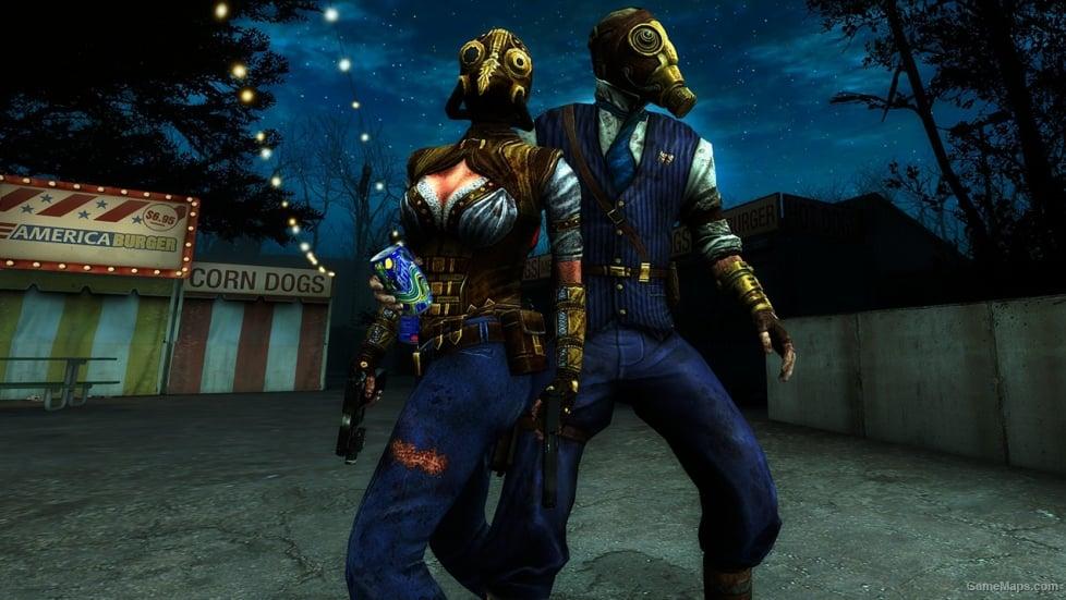 Steampunk Mr Foster Left 4 Dead 2 Gamemaps