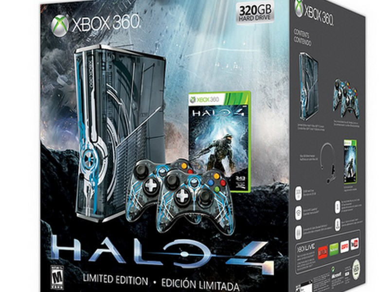 New Images Of Limited Edition Halo 4 Xbox 360 Console