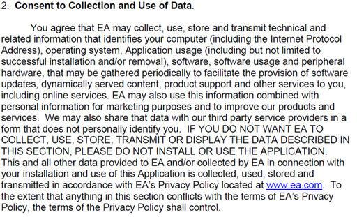 Over alles - Oorsprong van EA - Spyware?