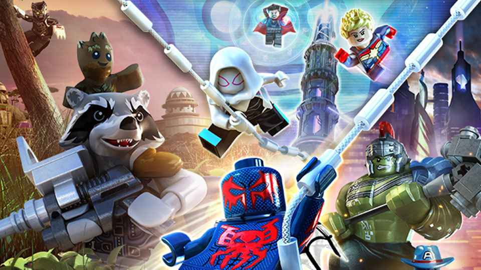 Pictures of New Lego Marvel Super Heroes 2 trailer shows Chronopolis 1 1 Enlarge picture