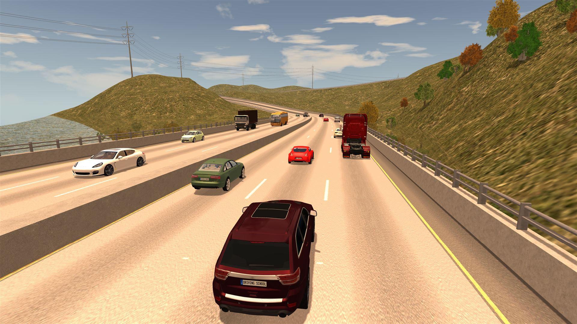 School Driving Game Simulator Car