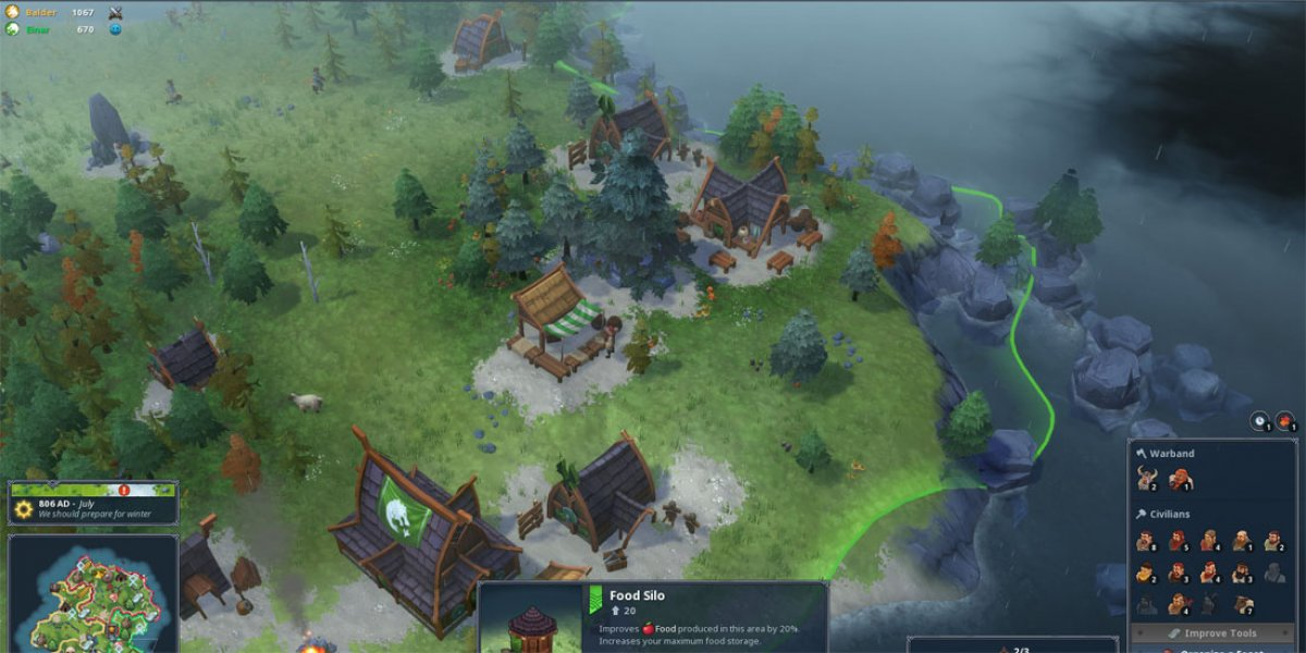 RTS Re Awakening  Northgard Hands On Preview   GamersNexus   Gaming     RTS Re Awakening  Northgard Hands On Preview  Game News