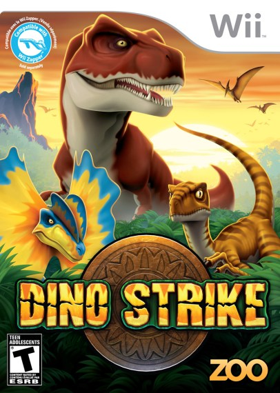 GamerDad  Gaming with Children      Game Review  Dino Strike  Wii  Perhaps