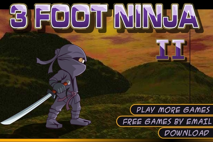 3 Foot Ninja 2 Game   Ninja games   Games Loon 3 Foot Ninja 2 Game